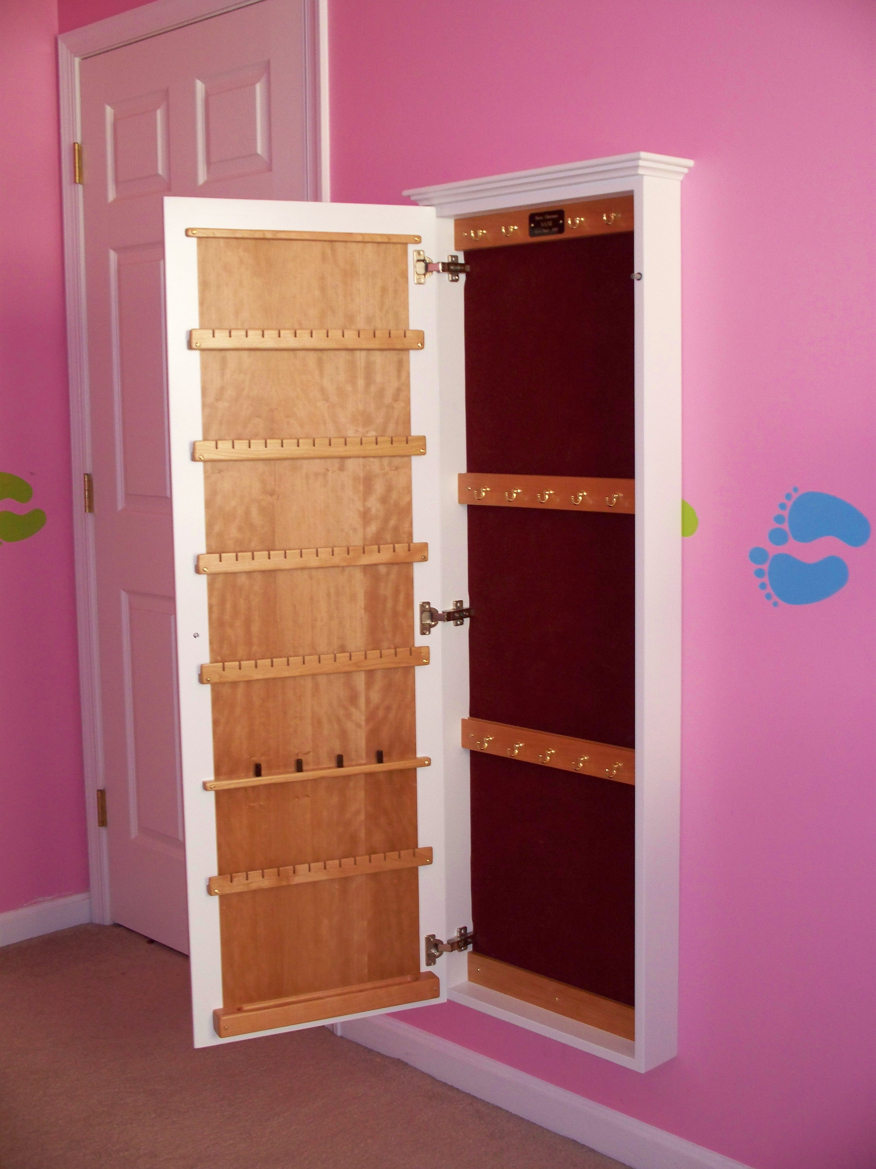 Built In Wall Jewelry Cabinet. Pictured mtbmug Source:Flickr