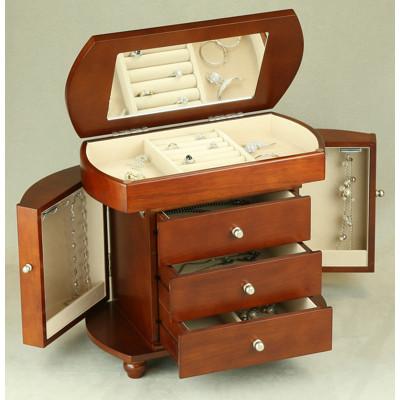 bulk wood jewelry boxes