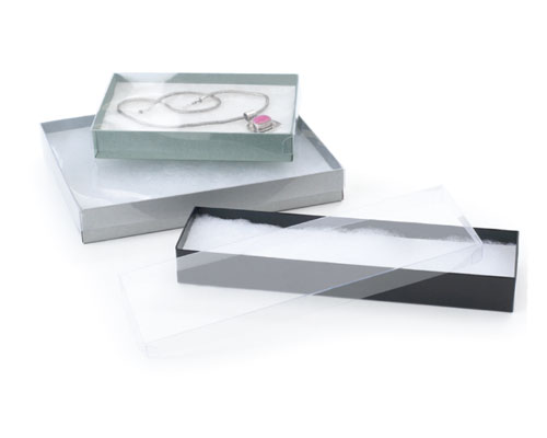 clear jewelry box packaging