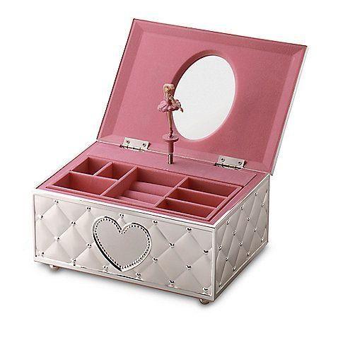 emily ballerina musical jewellery box