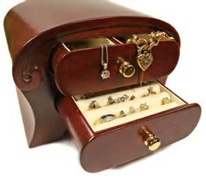 Female Jewelry Boxes.  Picture: Supplied Source:Supplied