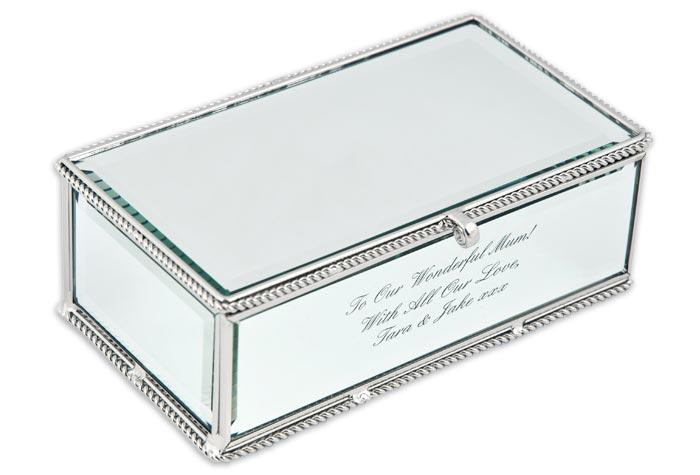 jewellery box engraved uk