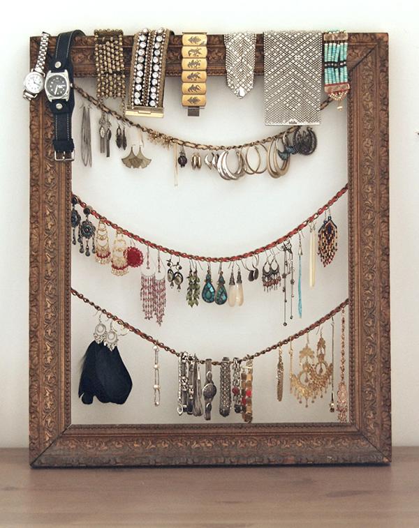 jewelry organizer tray diy