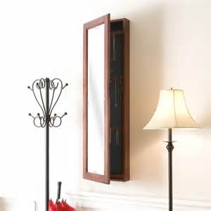 solid wood locking jewelry armoire
