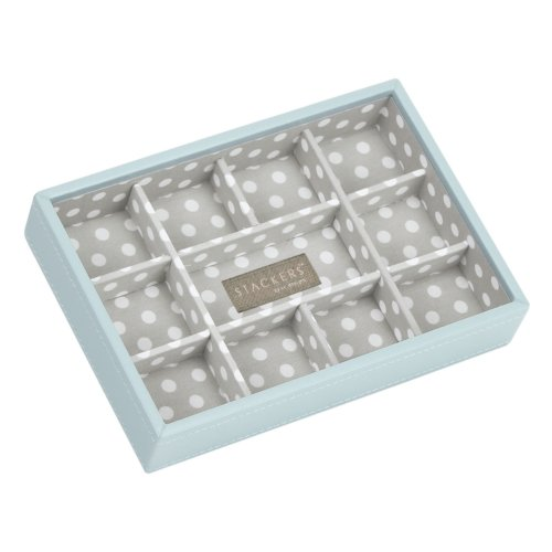 stackers jewellery box duck egg blue
