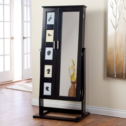 stand up jewelry box armoire