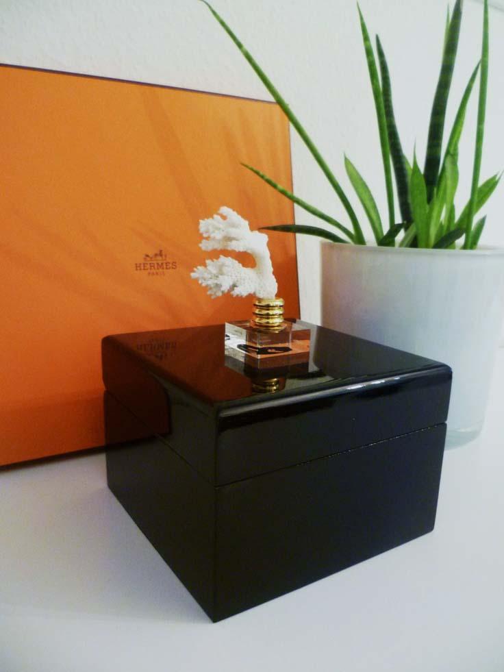 Acrylic box coffee table