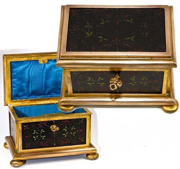 Antique jewelry box ebay
