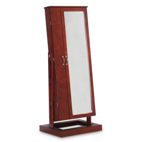 Bordeaux cheval mirror jewelry armoire