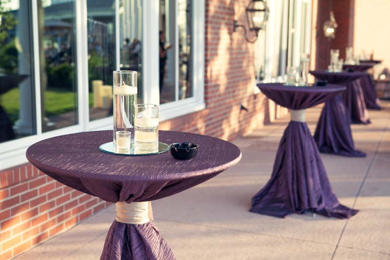 Cocktail tables for rent