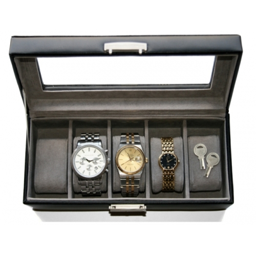 Men's Leather watch box personalized