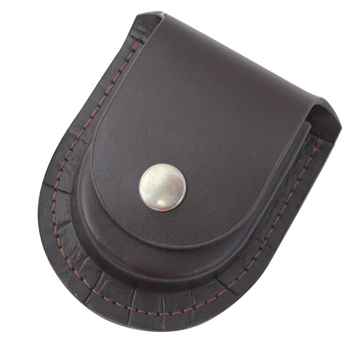 Personalized Men's watch holder Leather pocket