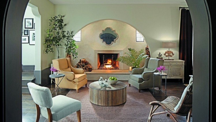 Round coffee tables cheap