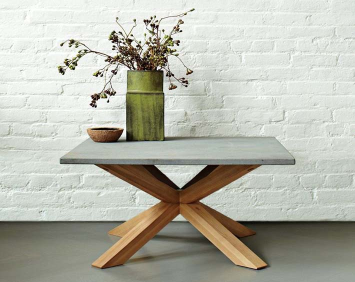 Axis granite coffee table