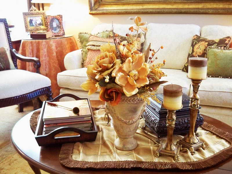 Coffee table centerpiece ideas for home