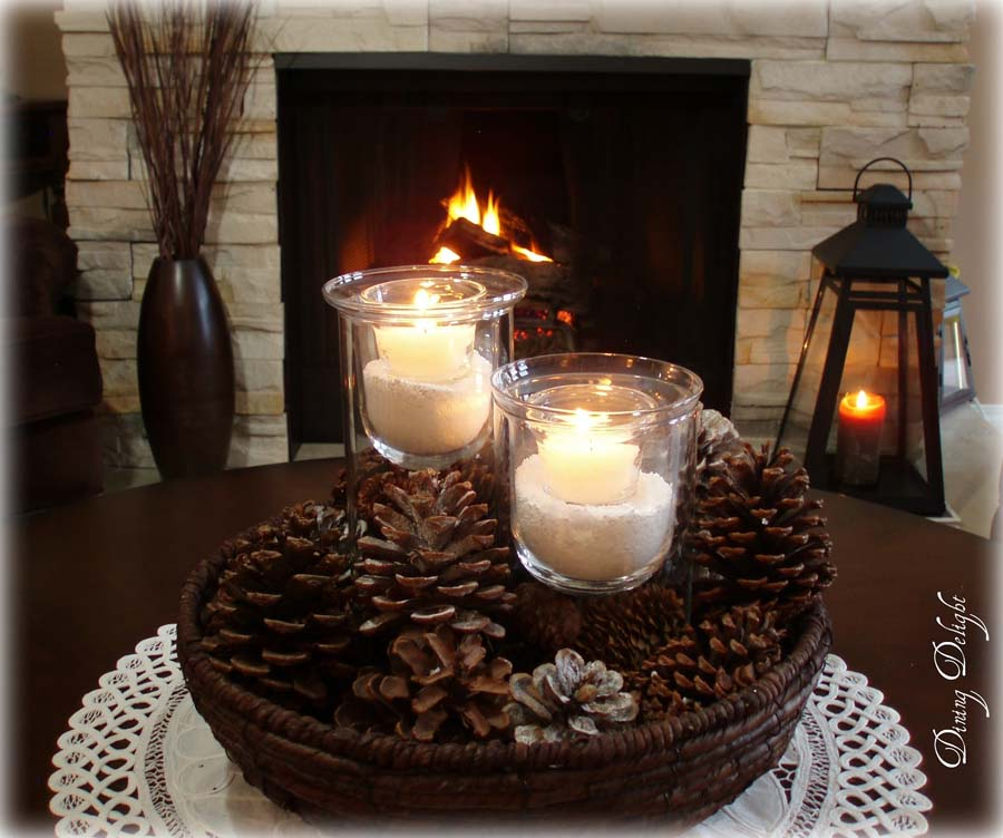 Coffee table decorating ideas pictures