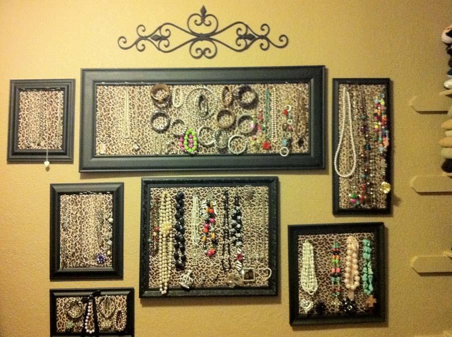 Decorative jewelry storage ideas