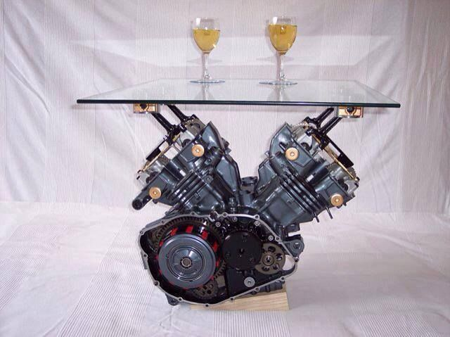 Engine coffee table buy