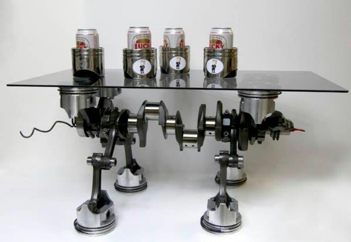 Engine coffee table diy