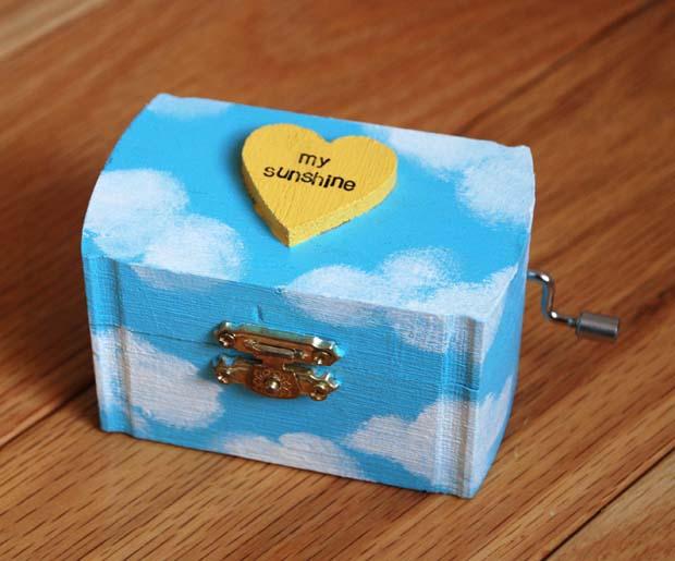 Jewelry box you are my sunshine