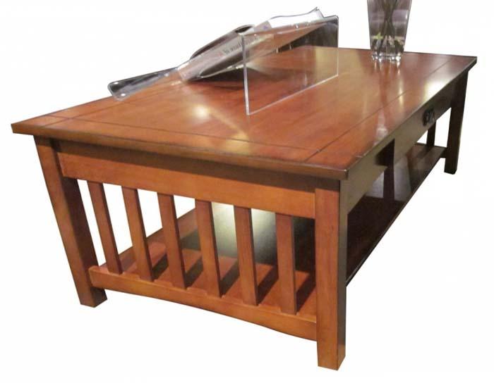 Solid oak coffee tables