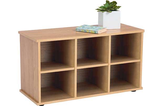 argos hall bench storage unit
