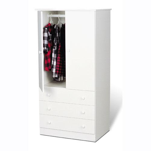 armoire closet white