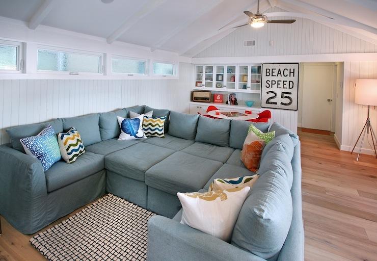 Amazing huge sectional sofa.