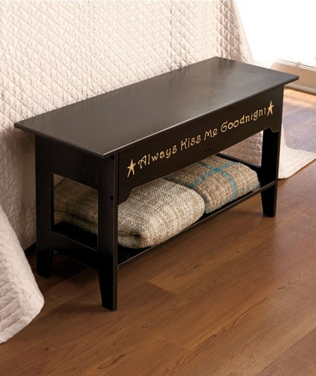 bedroom bench storage seat