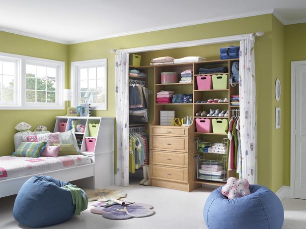 bedroom closet storage containers