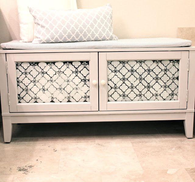 bedroom storage bench diy