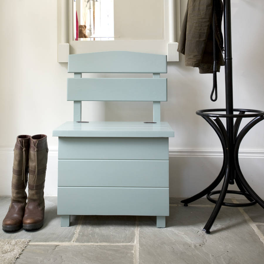 bench seat with open storage
