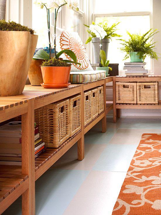 bench with storage baskets ikea