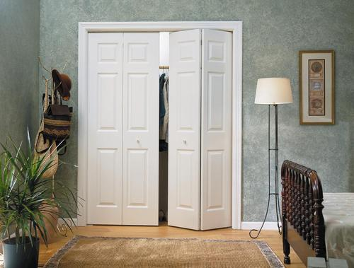 bifold closet doors menards