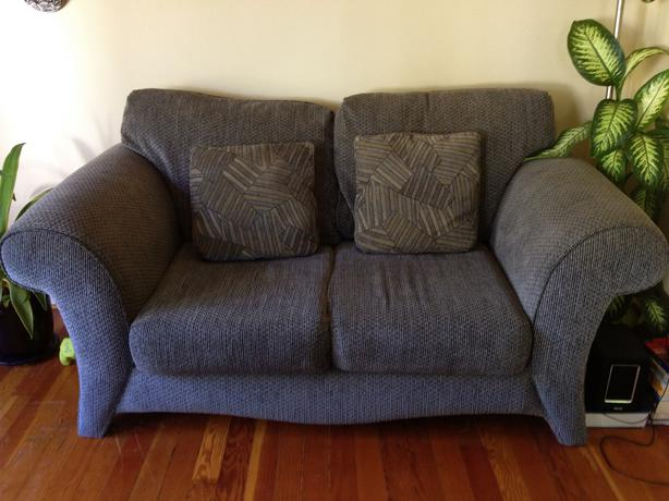 blue couch for sale joke