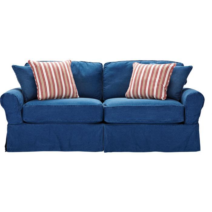 blue denim couches