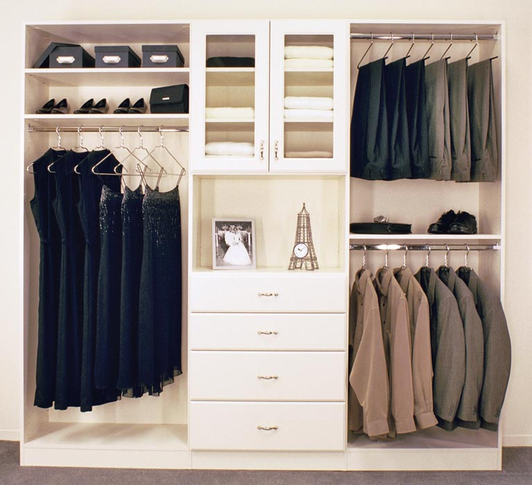 build in closet systems