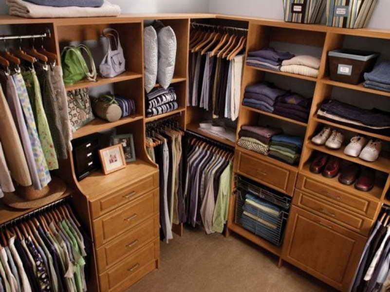 build your own closet organizer