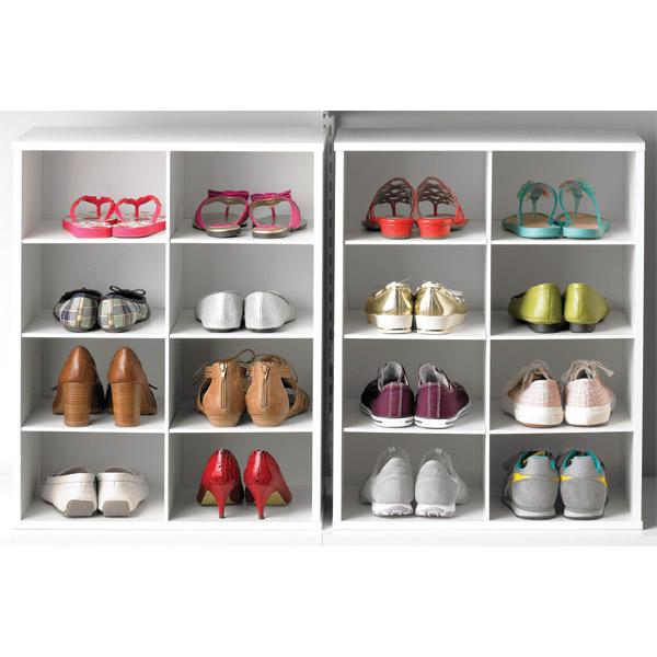 cardboard shoe organizers for closets