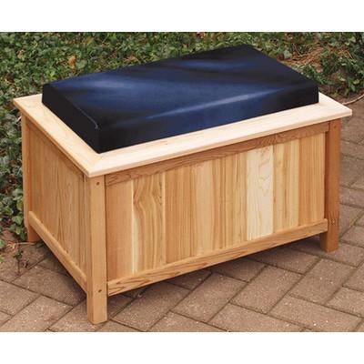 cheap garden storage bench