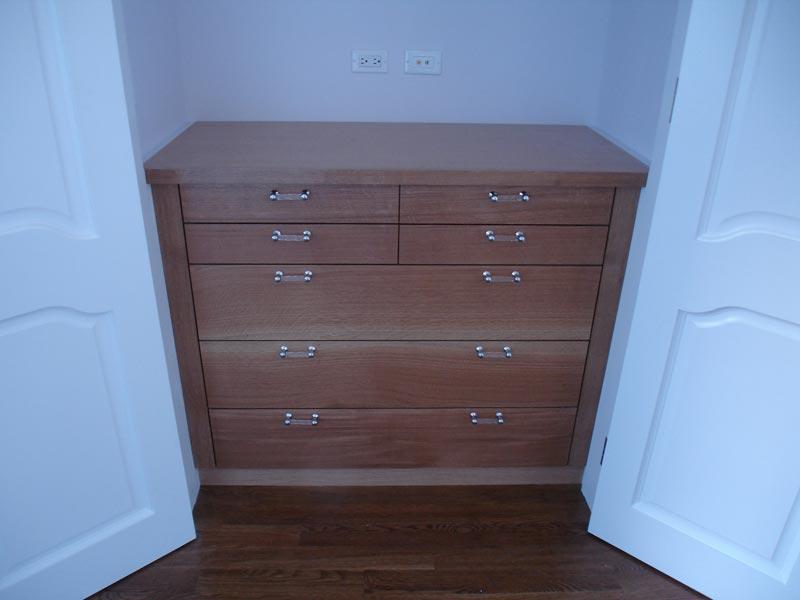 closet and dresser