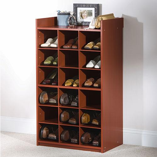 closet cubbies for shoes