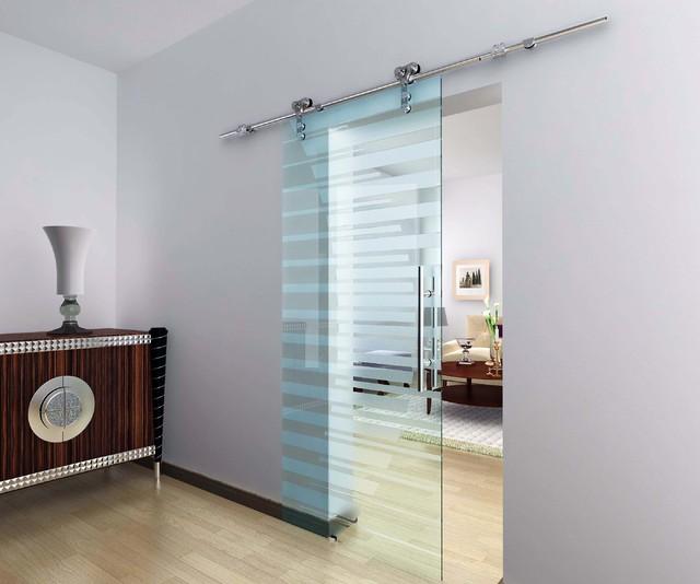 closet door with glass