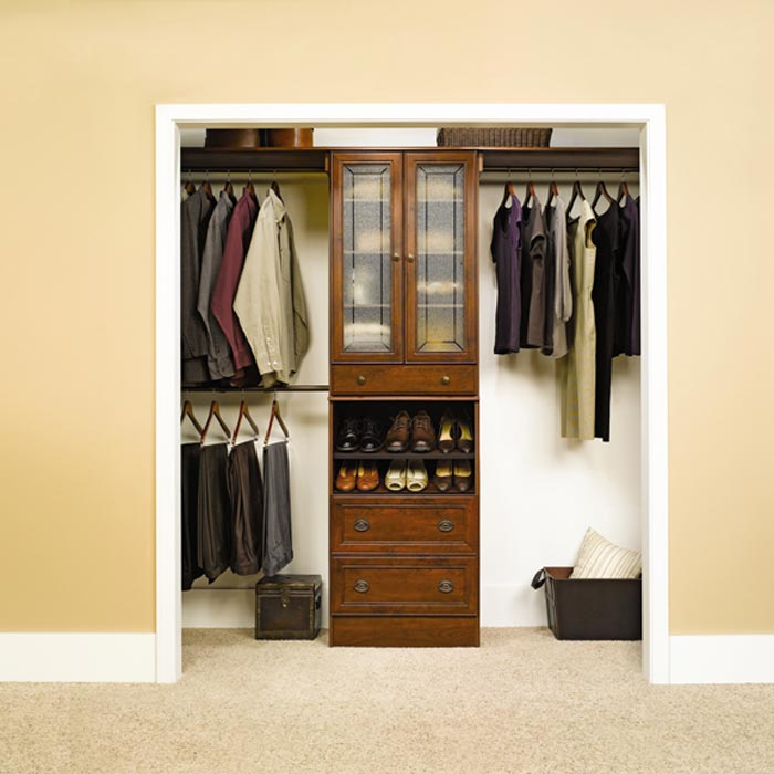 closet organizers and systems