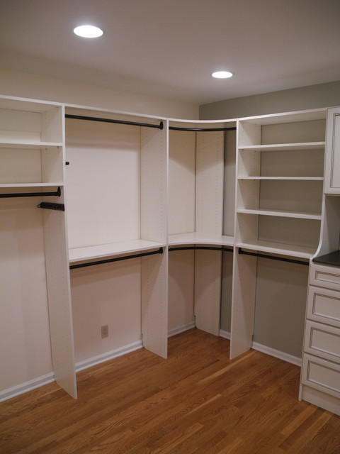closet rod for corner