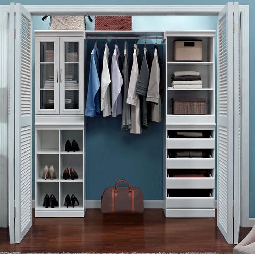 closet shelves organizer system