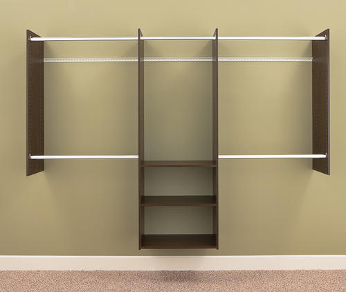 closet shelving systems menards