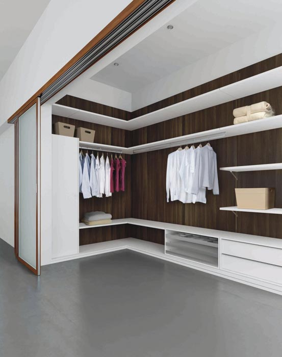 contemporary corner wardrobe closet