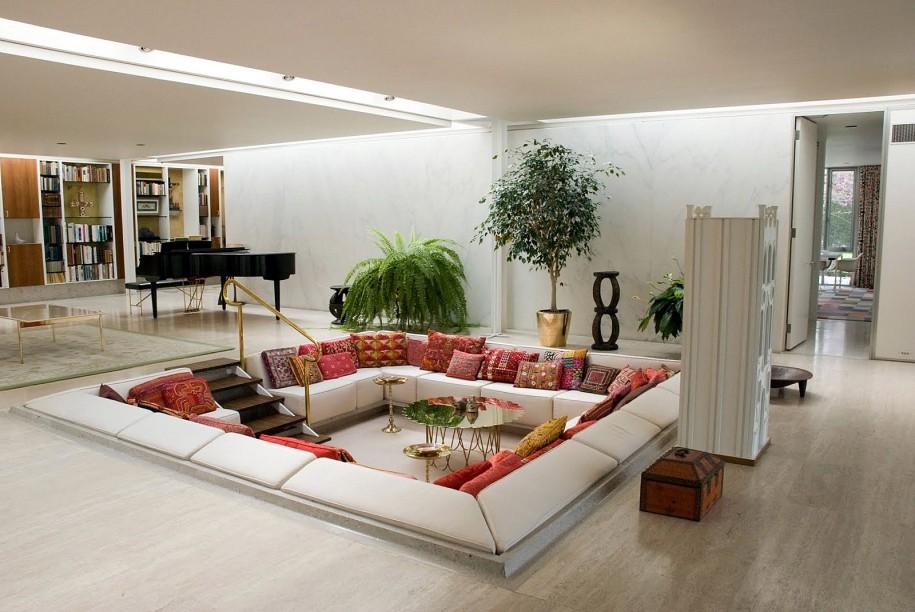 Z Gallerie's modern modular sectional sofa.