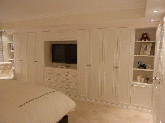 custom closet cabinet doors